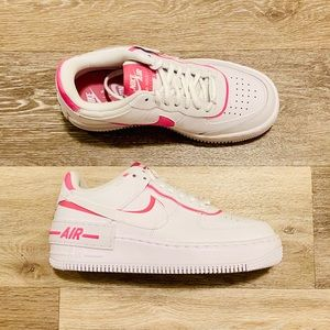 Nike AF1 Shadow White Magic Flamingo Pink